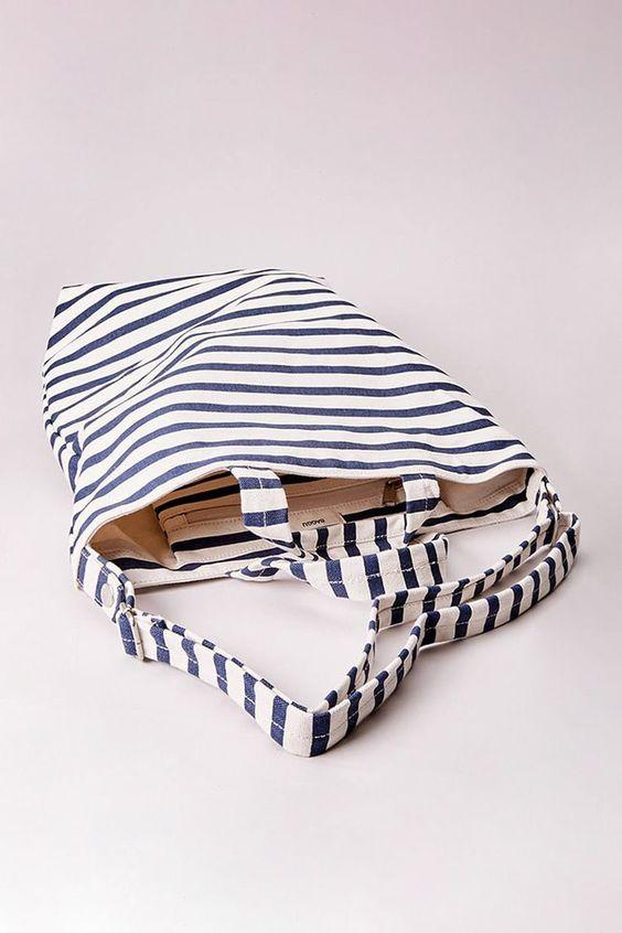Striped Duck Bag