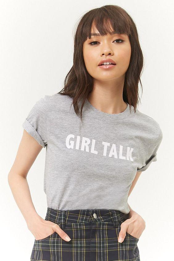 Girl Talk Graphic Tee