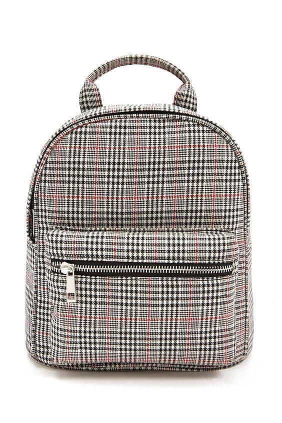 Glen Plaid Backpack