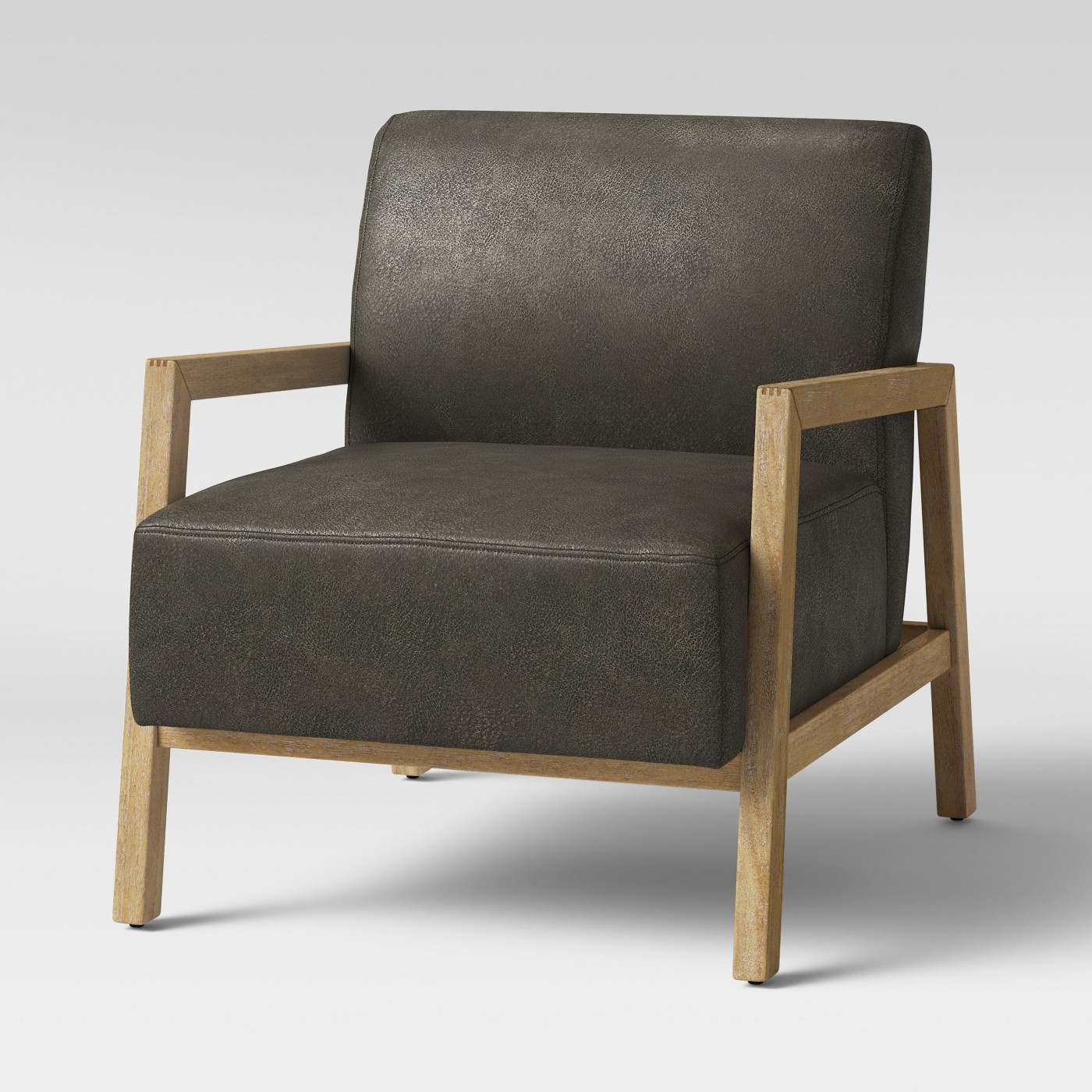 Bedford Rustic Wood Arm Chair