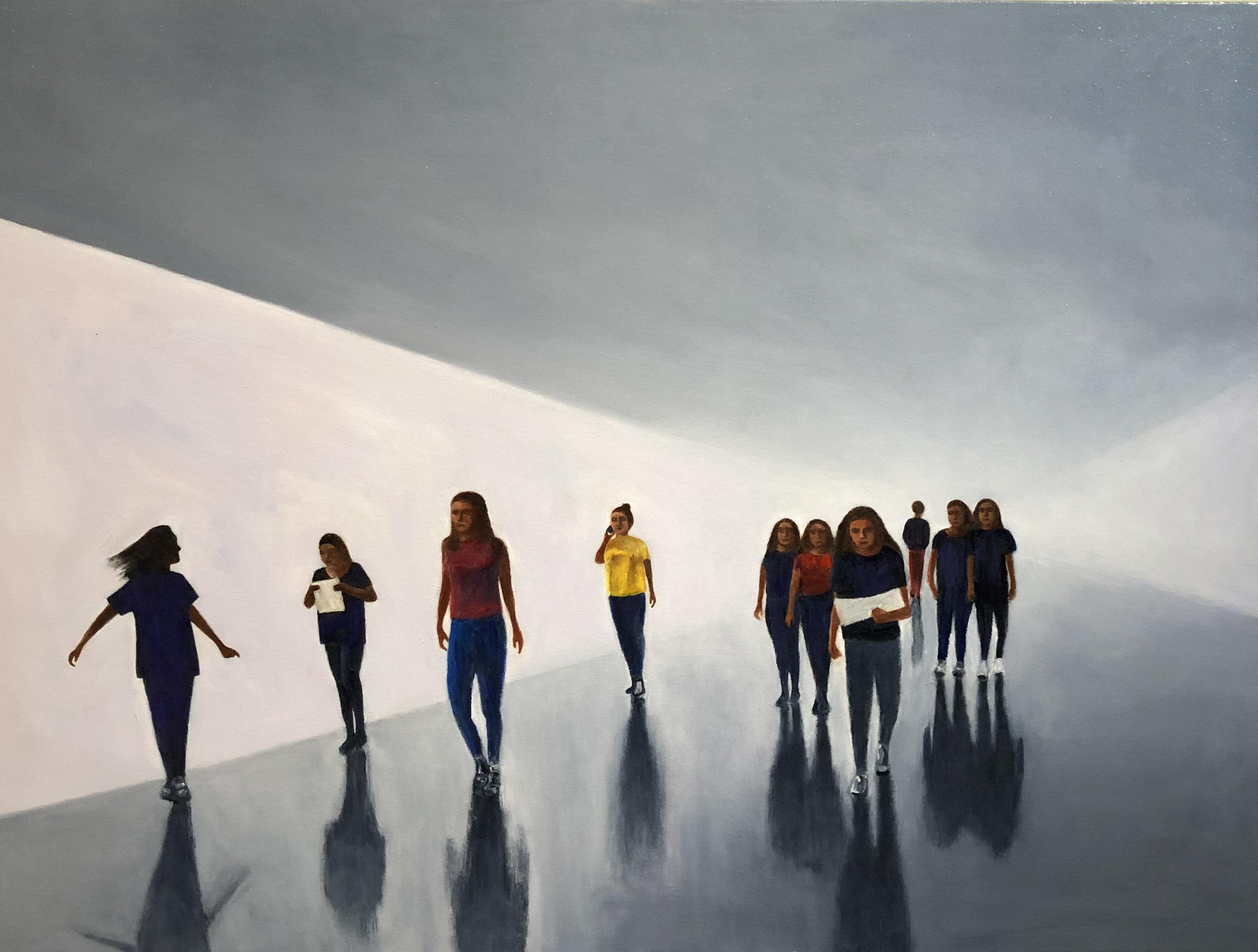 """""""Presence""""  oil on Canvas 40""""x30"""""""