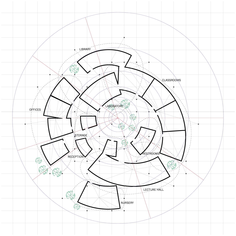 superimposed school plans