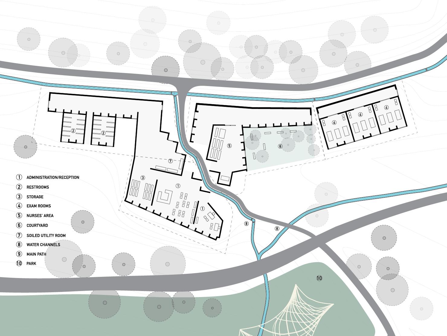 village hospital phase one plan
