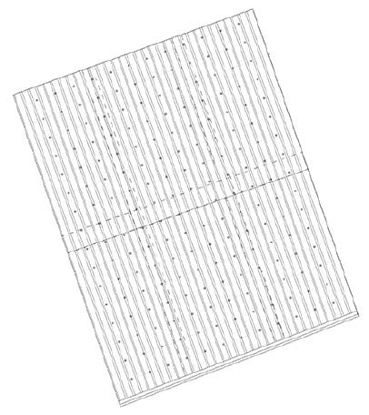 corrugated metal roof plan