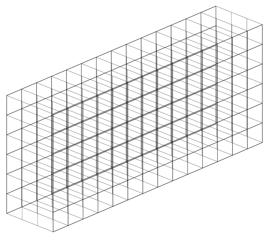 extrusion between two drawings using 3D grids