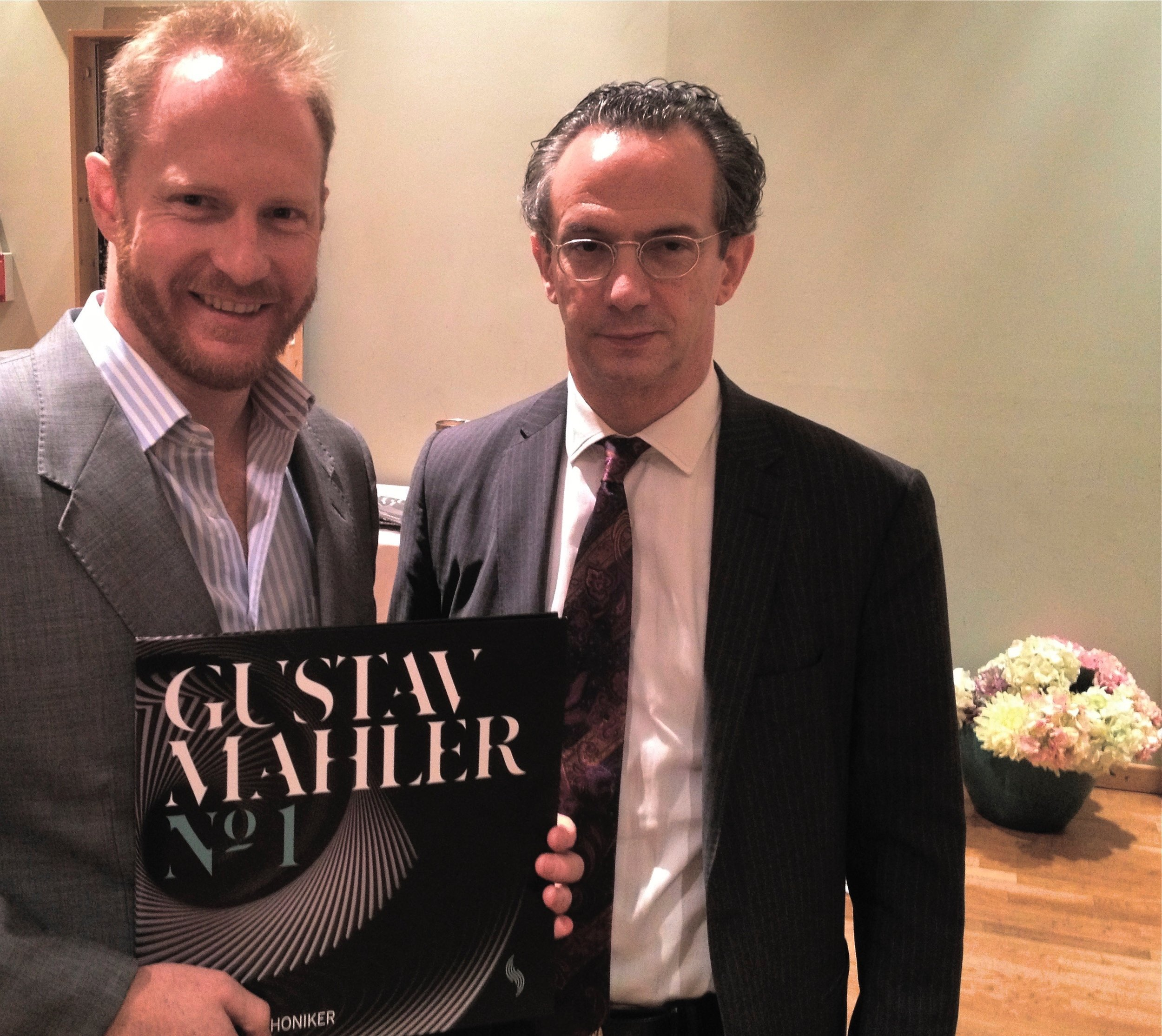 With Maestro Fabio Luisi presenting Mahler Symphony No.1