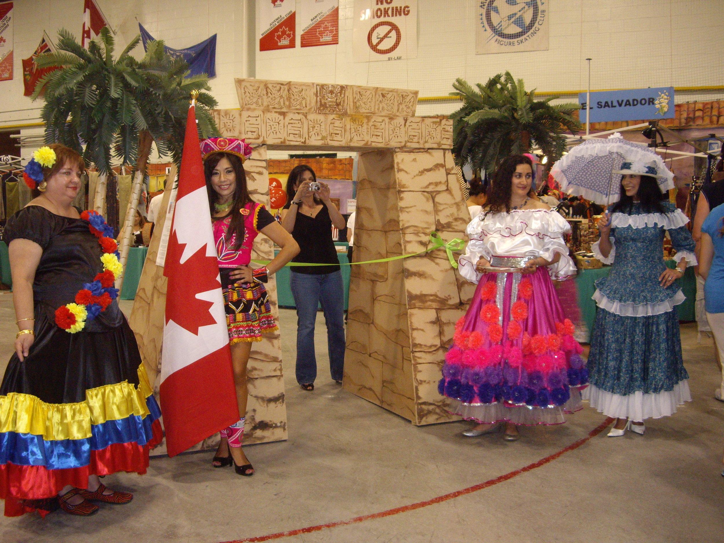 Opening Ceremonies, Latin American Pavilion 2012
