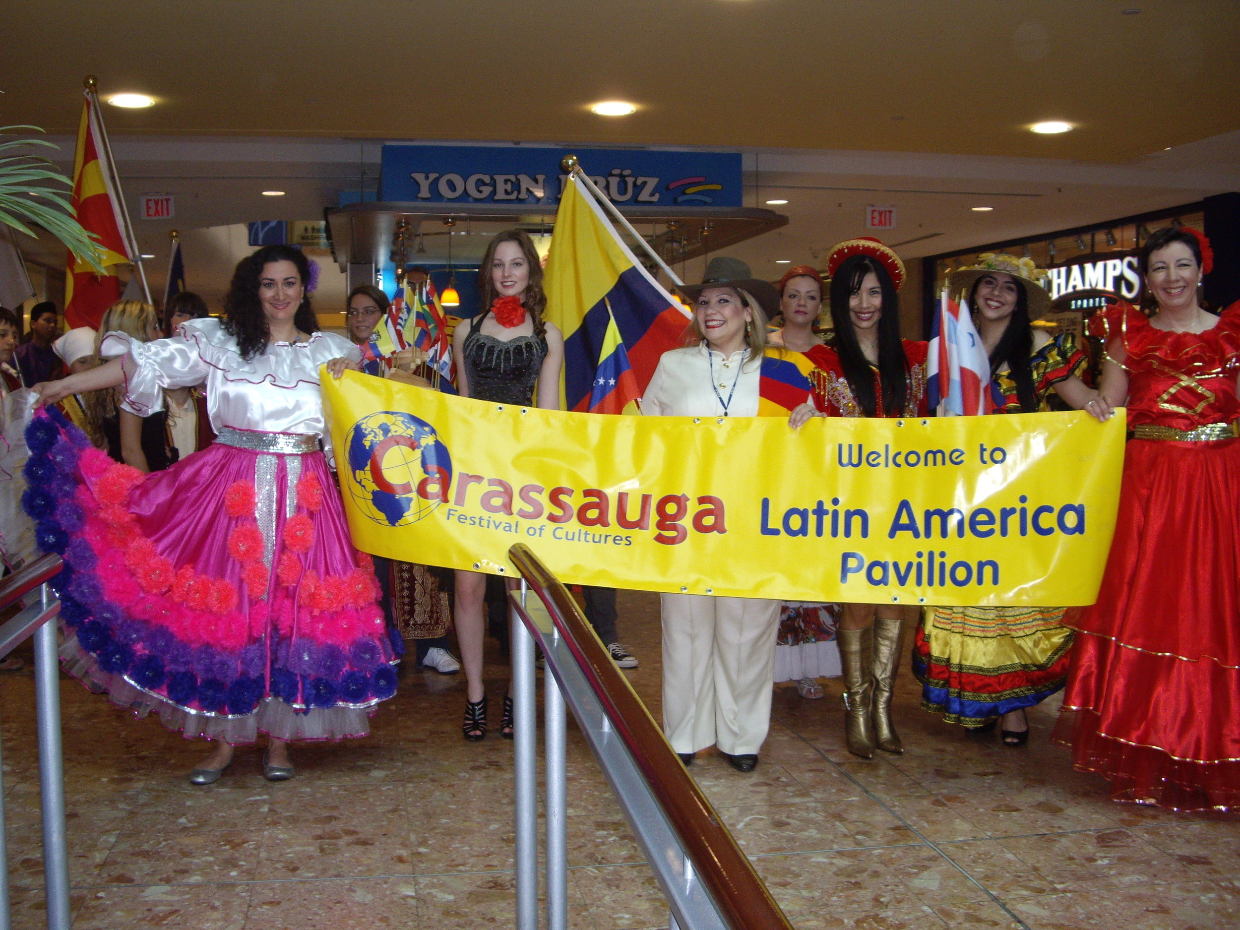 Promoting Carassauga Festival of Cultures in  Square One