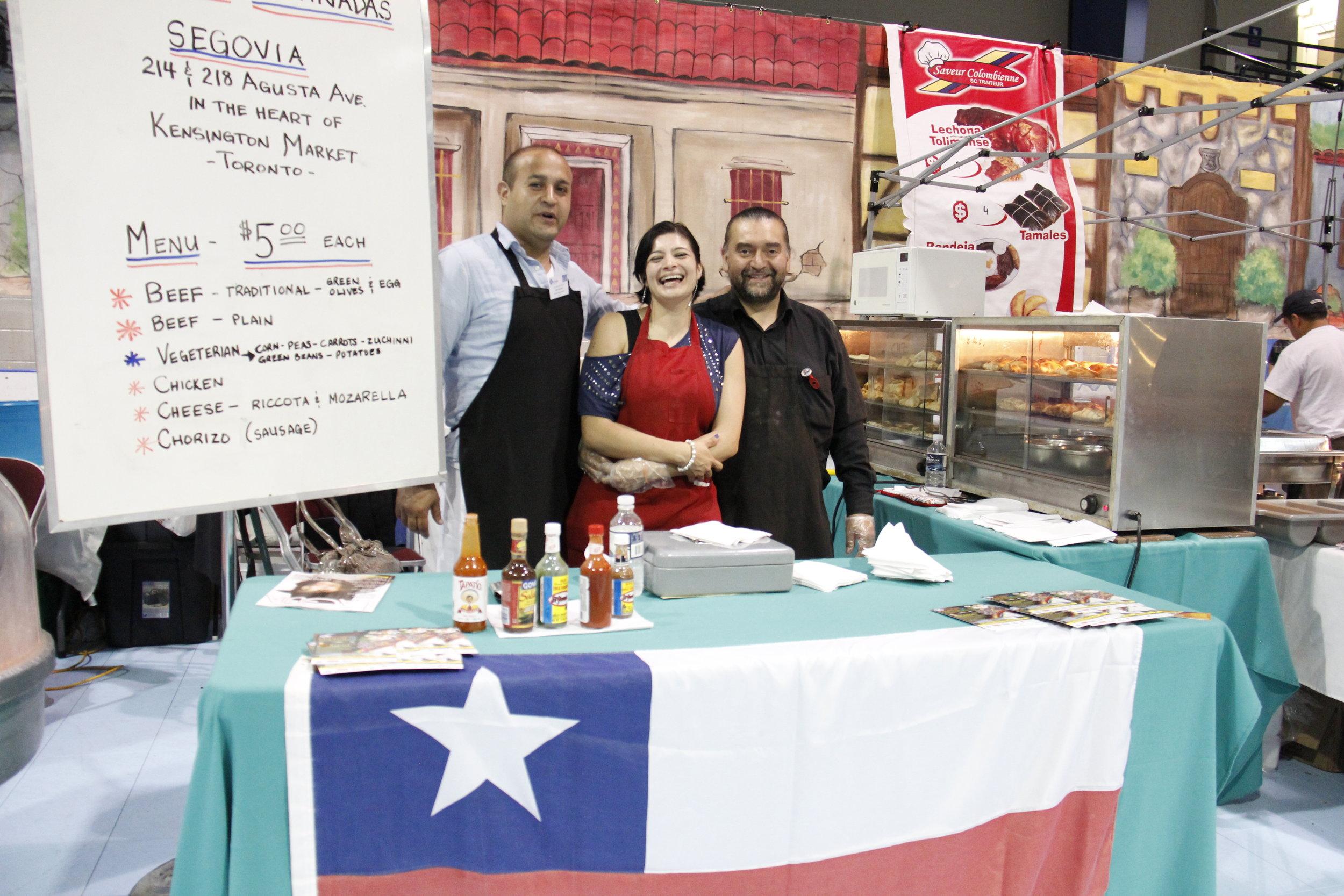 CHILE - Empanadas from Segovia