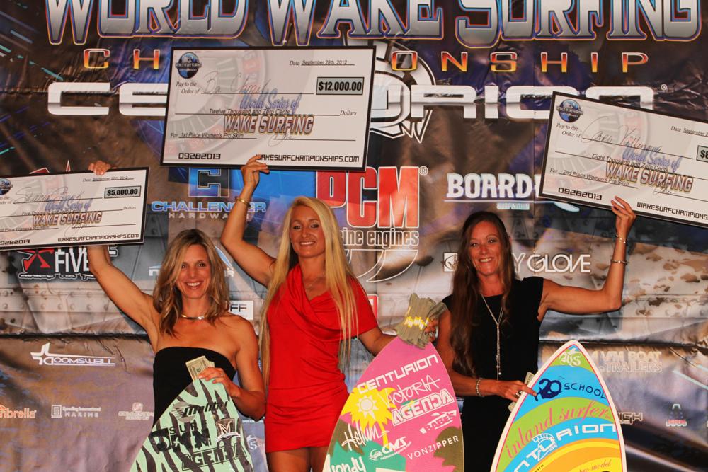 2013 Women's World Wakesurf Champion! Parker, AZ.