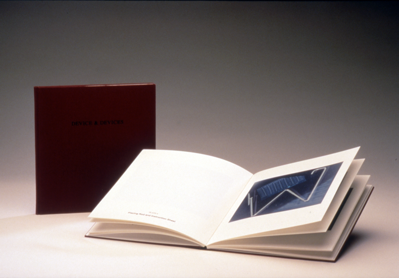 """""""DEVICE & DEVICES,"""" 1998, Hand Printed/Bound Book, Edition of 20"""