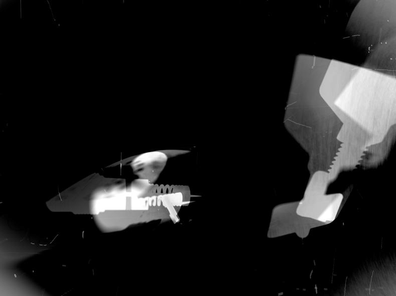 """""""Actuating Screw,"""" 1999; Digital Image; 12""""X9"""""""