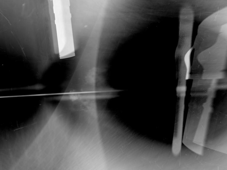 """Gas Pen,"" 2000; Digital Image; 12""X19"""