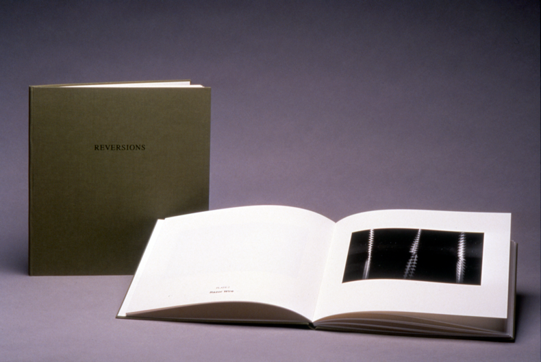 """""""Reversions,"""" 2000, Hand Printed/Bound Book, Edition of 32"""