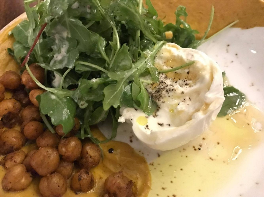 Peas and Carrots - Reinvented (with Burrata)