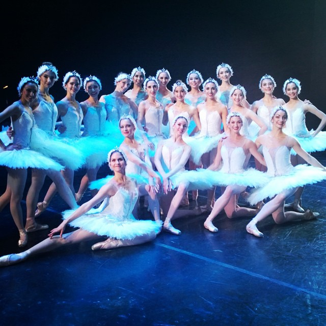 Swan Lake accomplished - always a special kudos to the corps!