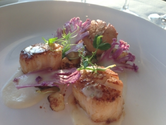 Seared Georges Scallops