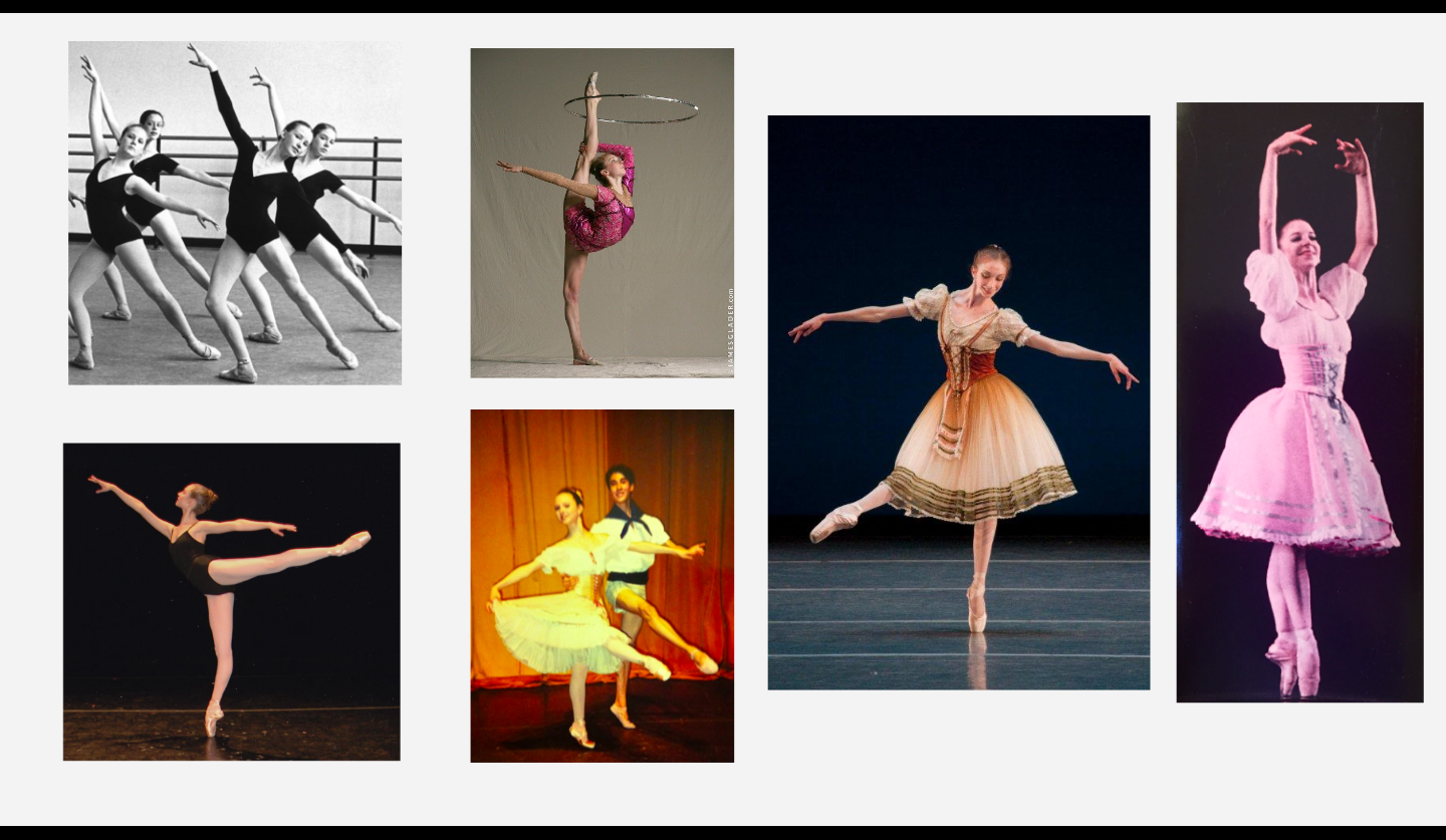 Our closing slide with photos from each of our careers spanning three different generations
