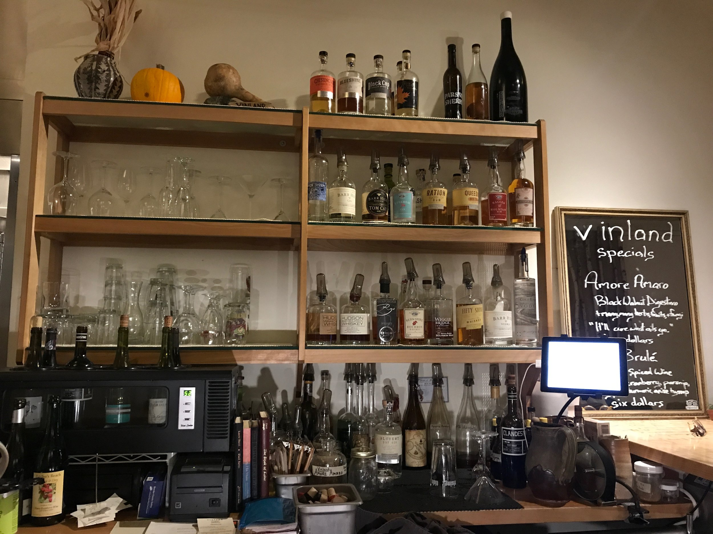 Small Bar Featuring Local Spirits and Ingredients
