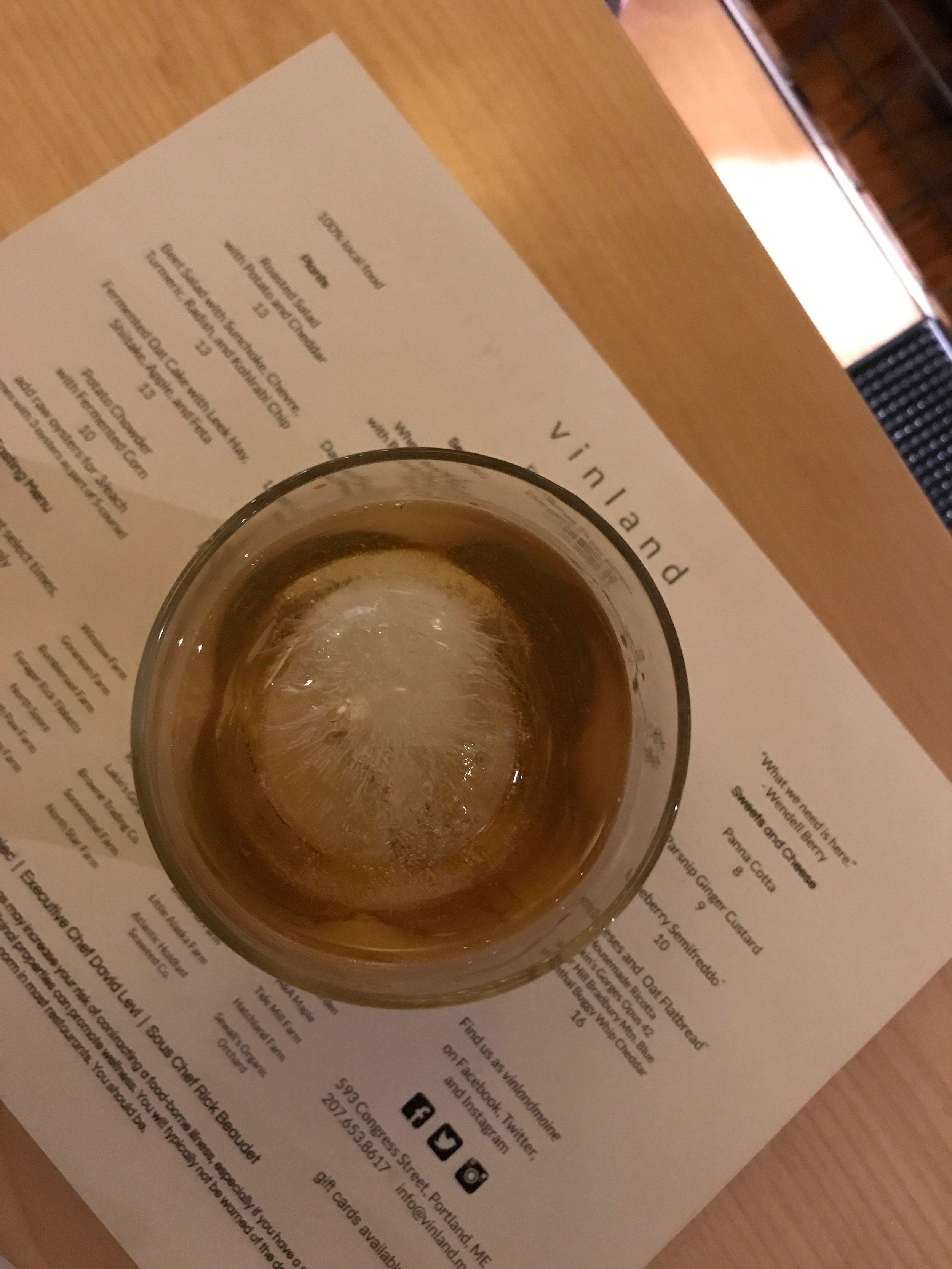 Whiskey + Apple Brandy + Absinthe