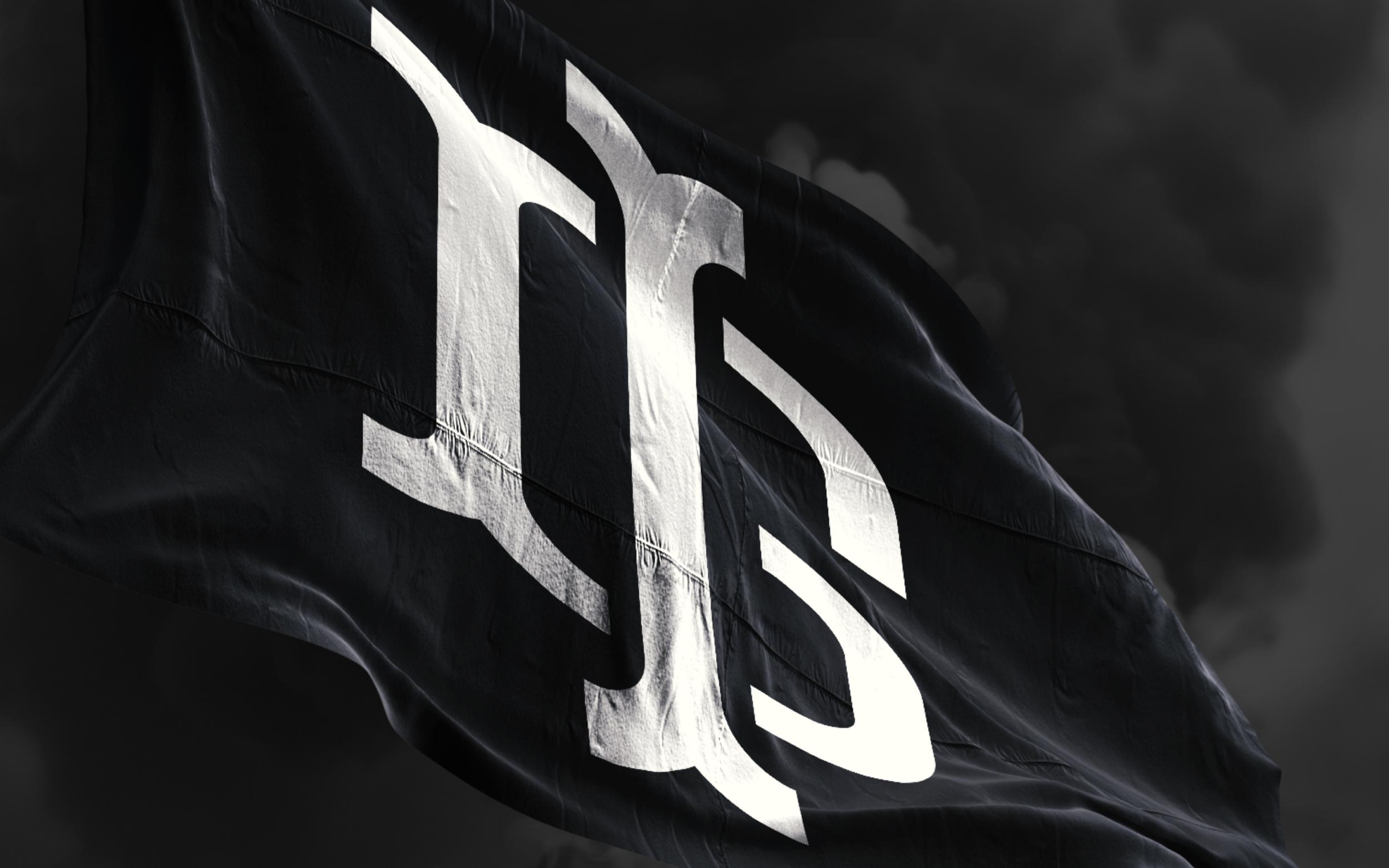 Monogram on Flag