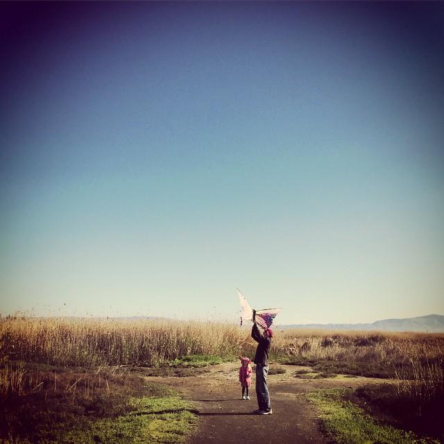 #kite #father #daughter #sunday