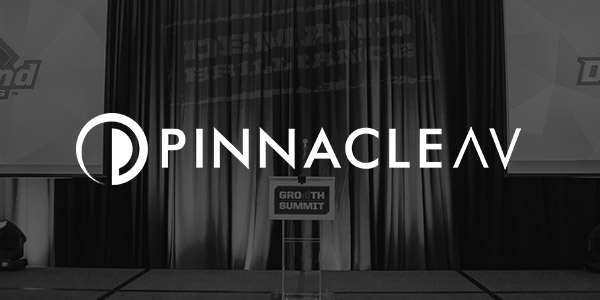 PinnacleAV  Our corporate AV brand.  Learn More