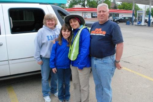 Stacy, Kit, and Glenn