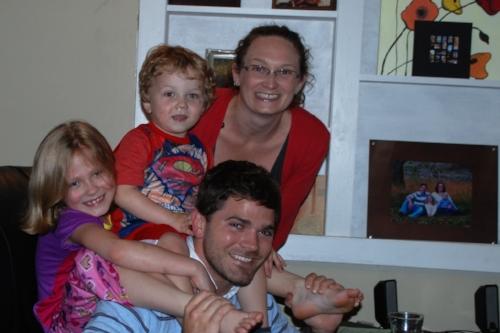 Aubrey, Benton, Troy, and Lindsey
