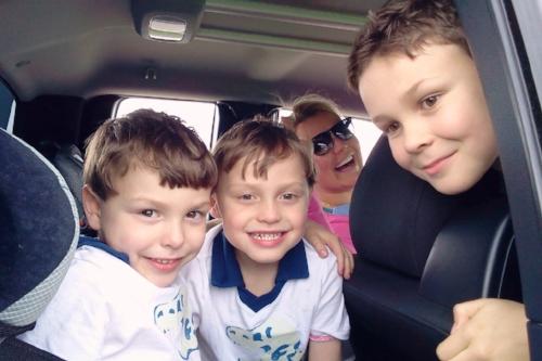 Cash, Mack, Cammie, and Cooper