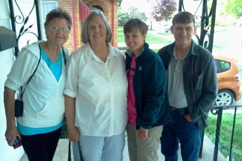 Judy, Sandra, and Lanny