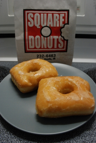 Square Donuts. The best donuts on earth.