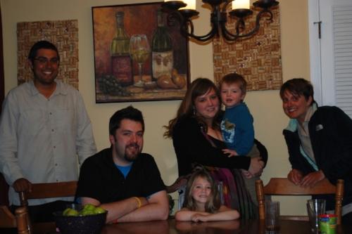 Jonathan, Kendal, Mandy, and Carter