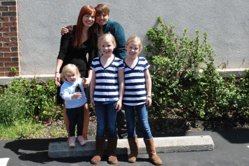 Zoe, Elizabeth, Sophia, and Isabella