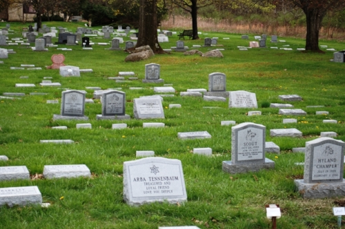 A pet cemetery. Sad, but also interesting. We've never seen one this elaborate before.