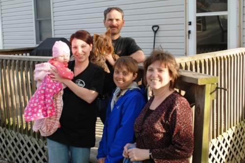 Nora, Megan, Jeff, and Paula