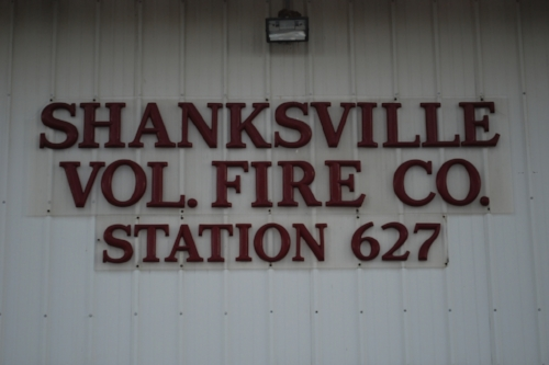 """I know at least one person will enjoy what we're about to do. To the rest, we apologize. A big """"shanks"""" to the Shanksville Fire Company!"""