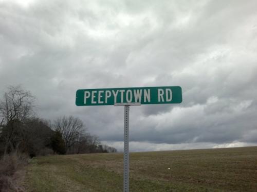 Peepytown Road