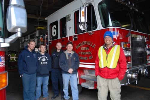 Biglerville Hose & Truck Company No.1 – Patrick, Nathan, Jared, and Eric
