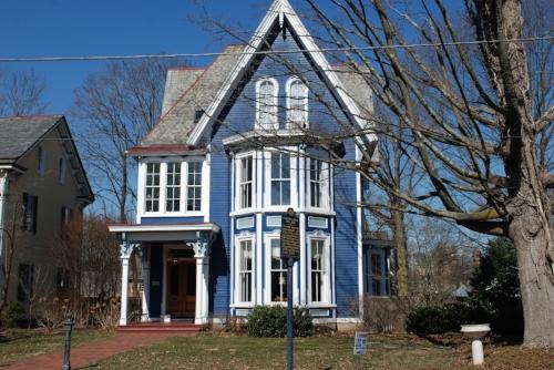 Leaving Doylestown, we passed Margaret Mead's house.