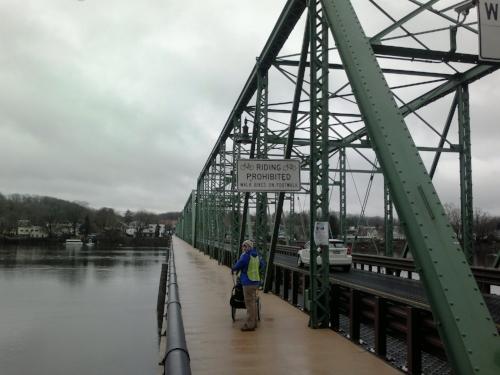 On the bridge to Pennsylvania