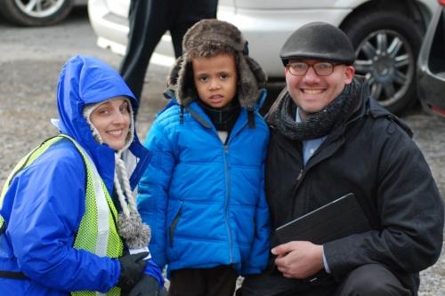 Tara with Zachariah and William