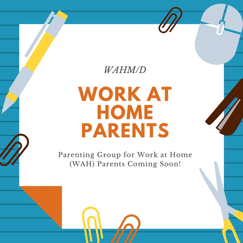 Work at Home Parents - Do you work from home with your kids or while your kids are in school? Come and meet other parents who do the same! Share tips and tricks and trade secrets. It's a water cooler, coffee clutch; kind of group, since most of us do not get this at work.
