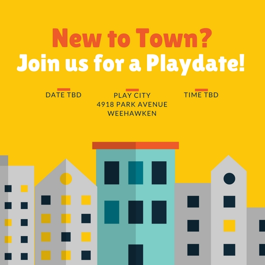 New to Town Playgroup - Are you new to town or just feel that way? Let's meetup and talk about things like: Where is the best pizza in town? Have you found a pediatrician yet? When is the Independence Day Parade or is there a local farmer's market?