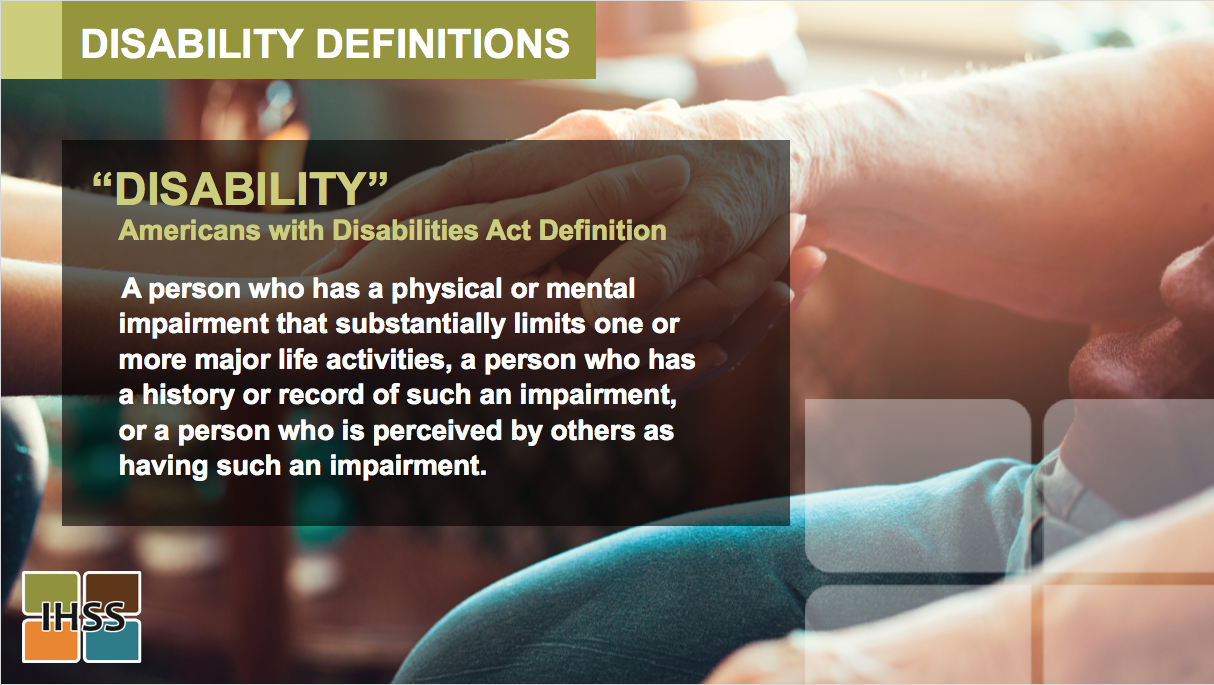 IHSS Disabilities PPT Divider Page
