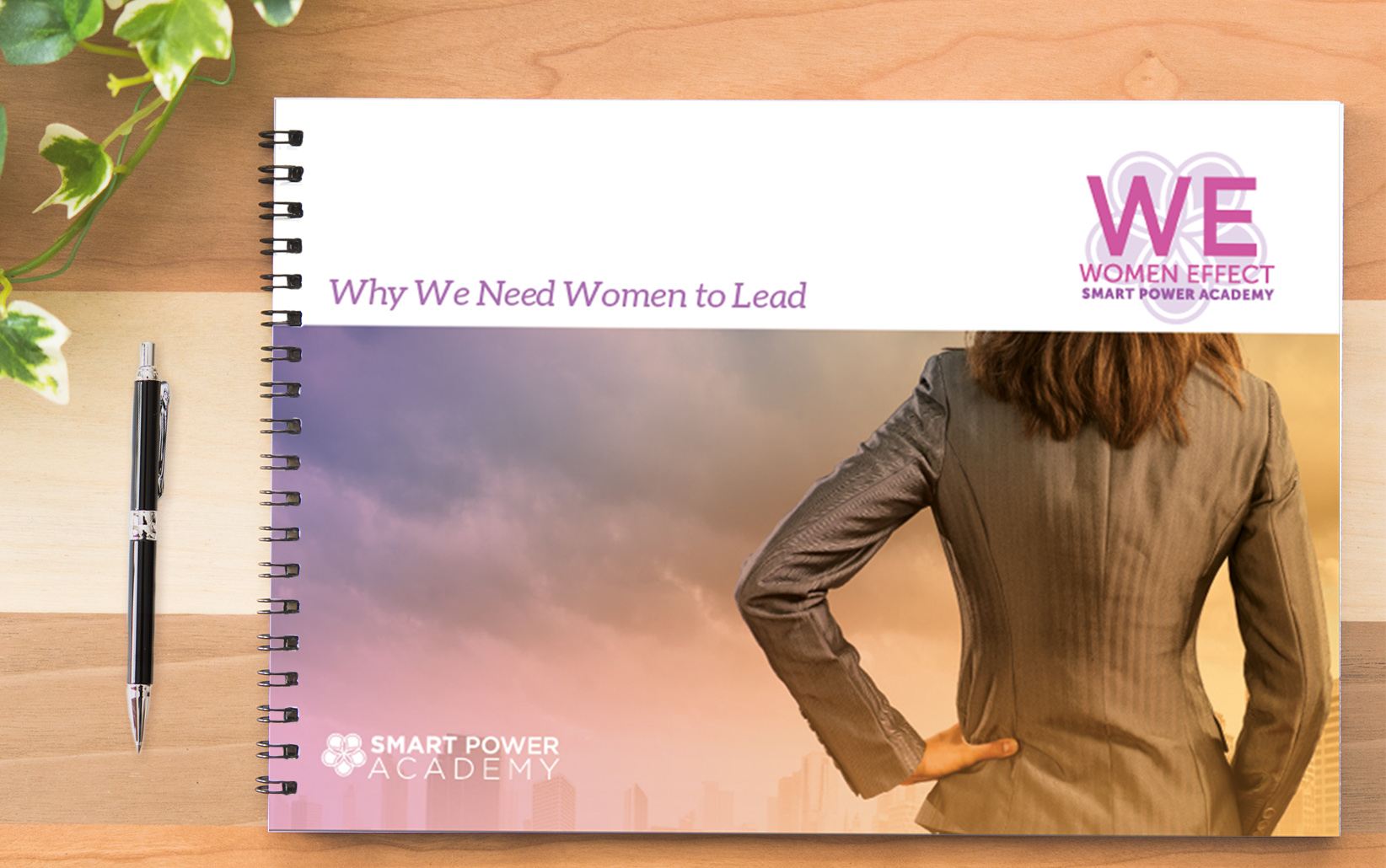 SPA Workbook Cover for Women Effect Conference