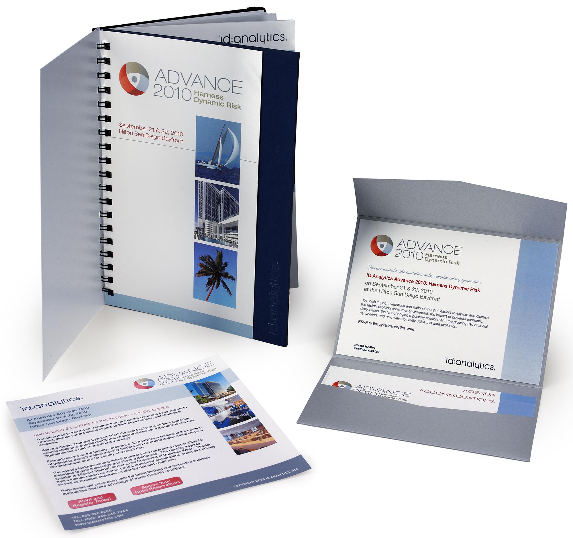 The E-blast, Workbook/Program and Invitation Package
