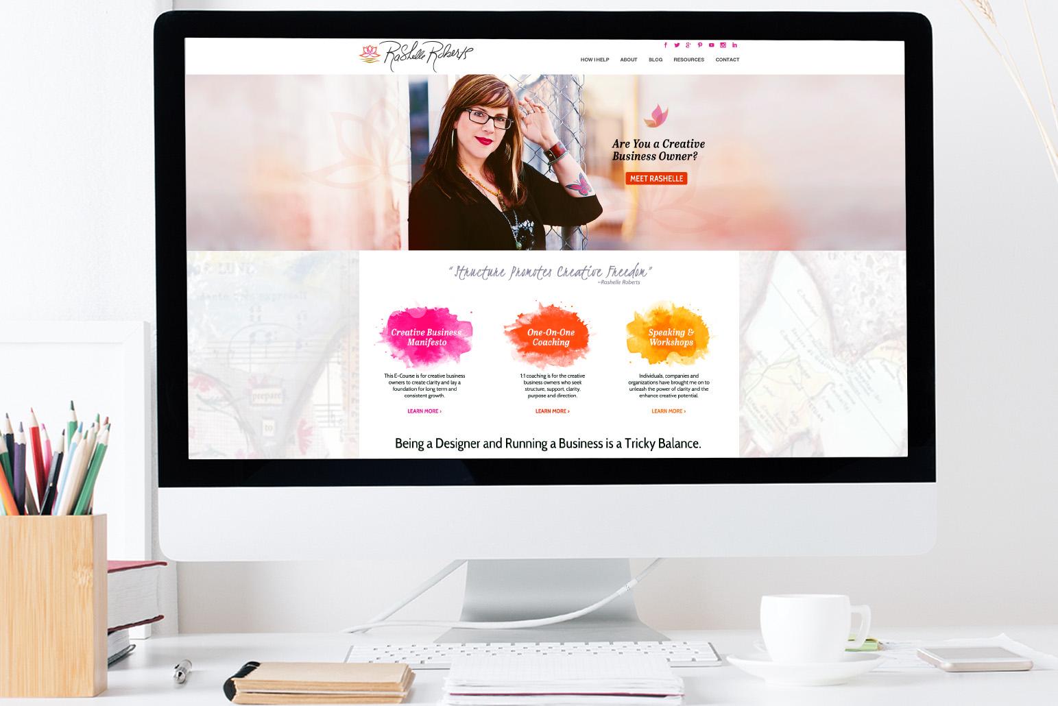 The Original Concept for the Website