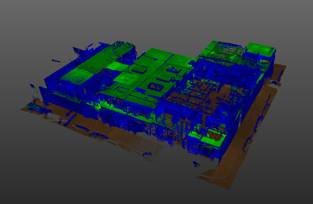 3D architectural scan we performed of a rather large, vulnerable DIY site