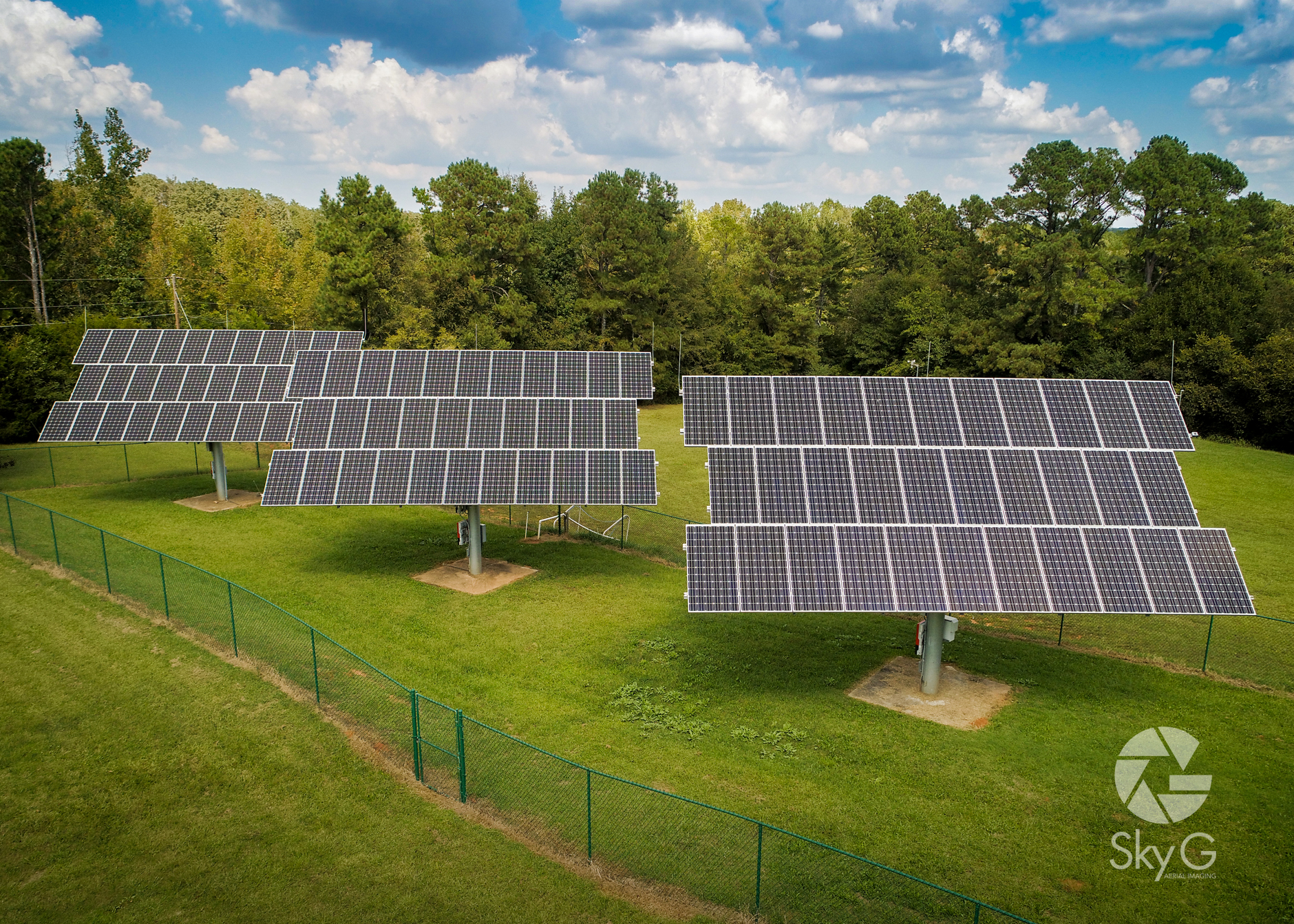 Aerial Photography - Solar Array